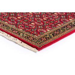 Ručne tkaný červený koberec z Indie Yammuna 9405