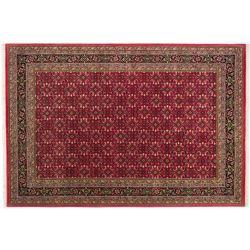 Ručne tkaný červený koberec...