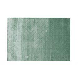 Moderný geometrický koberec Handloom svetlo zelený 1,70 x 2,40m