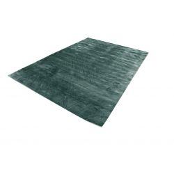 Moderný geometrický koberec Handloom tmavo zelený 2,50 x 3,00m